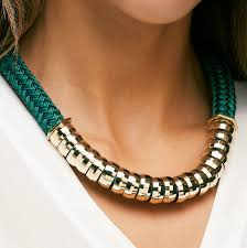jewelry statement necklace images Classic emerald statement necklace by apache rose london jpg