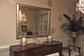 stunning decorating with mirrors in dining room pictures d