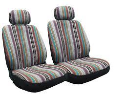 baja car amazon com baja inca seat covers pair front row saddle blanket