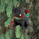 conversation concepts pug black tree topper