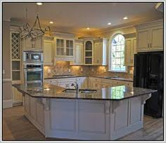 Restaining Kitchen Cabinets Without Stripping Fascinating Half Wall Room Divider For Interior Design Kitchen