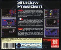 si e pour le dos shadow president 1993 dos box cover mobygames