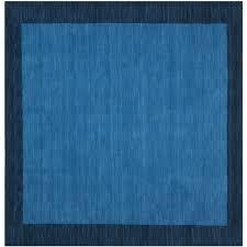 Blue Wool Rug 8x10 Safavieh Handmade Himalaya Light Blue Dark Blue Wool Gabbeh Rug