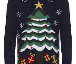 christmas tree jumper with lights a best choice for your christmas gift navy christmas tree christmas