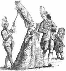 women of france hair styles baroque clothing i absolutely love the servant holding up the