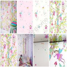 girls horse themed bedding girls glitter effect wallpaper fairies hearts horse animals wall