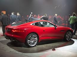 jaguar f type coupe is stunning and fast los angeles auto