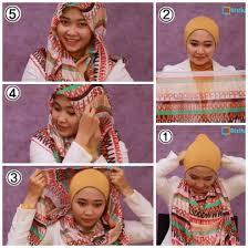 tutorial memakai jilbab paris yang simple hijab cara memakai jilbab paris simple sehari hari