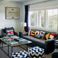 Nautical Living Room Coastal Style Home Tours And Decorating Ideas