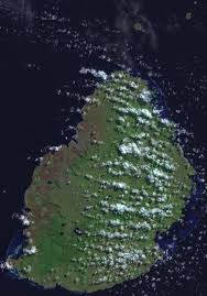 Satellite Map Of Florida by Satellite Map Of Mauritius Mauritian Life