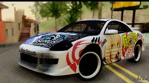 mitsubishi cars 2003 mitsubishi eclipse 2003 fate zero itasha for gta san andreas