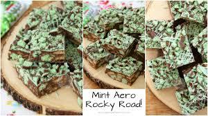 mint aero rocky road recipe jane u0027s patisserie youtube