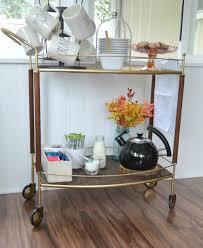 kitchen coffee bar ideas diy coffee shop bar cart glamorous makeover my creative days