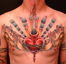 indiana tattoos amazing chest designs girly side chest