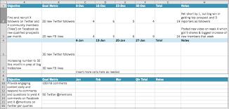 Prospect Tracking Spreadsheet Social Marketing Pk Audiovisual