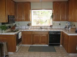 dark oak kitchen cabinets