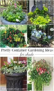 Planter Garden Ideas 12 Beautiful Container Gardening Ideas For Shade