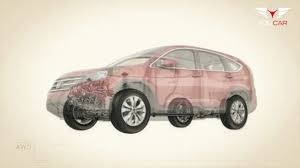 Ford Escape Awd System - 2012 honda cr v real time awd technical youtube