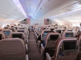 Boeing 777 Interior Qatar Airways 777 Economy Going 10 Abreast One Mile At A Time