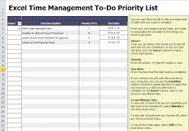 Excel List Templates To Do List Template Excel To Do List Template