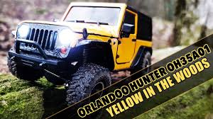 vaterra ascender jeep comanche pro orlandoo hunter oh35a01 jeep wrangler yellow in the woods rc