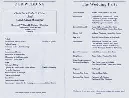 best wedding programs wedding program templates