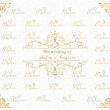 wedding backdrop name aliexpress buy allenjoy photography background gold frame
