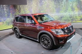 2017 nissan armada cloth interior 2017 nissan armada returns as rebadged patrol