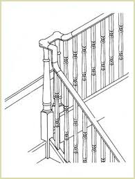 Banister Height Install Vertical Turns