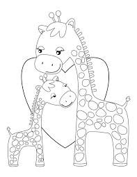 Giraffe Coloring Pages Baby Giraffe Coloring Pages Widescreen Coloring Baby Giraffe by Giraffe Coloring Pages