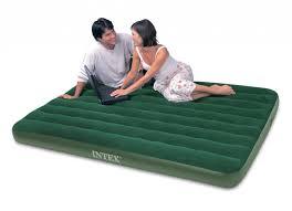 intex prestige downy full air mattress with battery pump