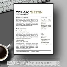 Modern Professional Resume Template 37 Best Masculine Resume Templates Images On Pinterest Cv Ideas