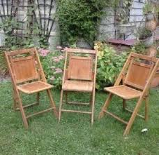 Stakmore Folding Chairs Vintage Wooden Folding Chairs Foter