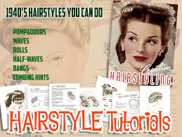 1940s hairstyle tutorials vintage makeup guide