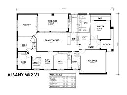 4 bedroom home design introducing albany mark 2 sjd homes