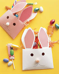 Jumbo Easter Decorations by Envelope Bunnies Craft Decorations Easter Crafts And Easter