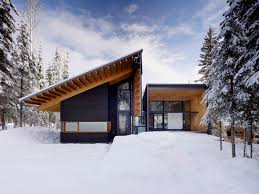 10 modern wintry cabins we u0027d be happy to hole up in design milk
