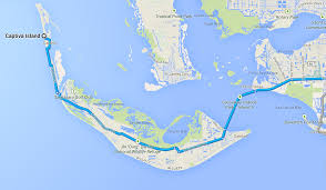 Sanibel Island Map Sanibel Captiva Islands Annie U0026 Taylor Vos