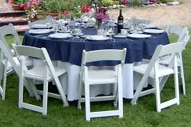 5 foot round table how to choose the right table linen size for your wedding or event 5
