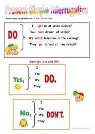 present simple spelling rules english grammar pinterest