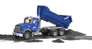 mack dump truck amazon com bruder mack granite halfpipe dump truck toys u0026 games