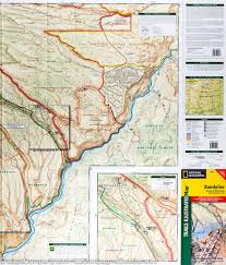 Maps New Mexico by Trail Map Of Bandelier National Monument New Mexico 209