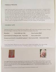 Westminster Council Tax Leaflet Ukip Councillor Accuses Nhs Of Wasting On Lgbt Services