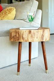 tree trunk end table wood stump coffee tables tree trunk end tables tree trunk base