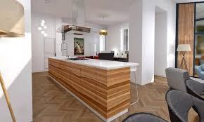 cuisine ouverte ilot enchanteur cuisine ouverte ilot central avec ilot central cuisine
