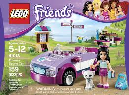 barbie ferrari lego friends emma u0027s sports car brains u0026 039 n motion