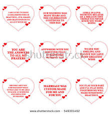 wedding wishes and prayers set quotes about marriage stock vector 549112570