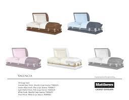 matthews casket caskets mesnekoff funeral home inc