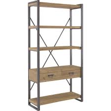 lex large shelf in brown moe u0027s home collection home gallery
