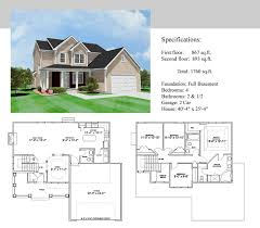 Two Storey House Design And Floor Plan Wonderful 2 Story House Floor Plans With Basement 3 Awesome